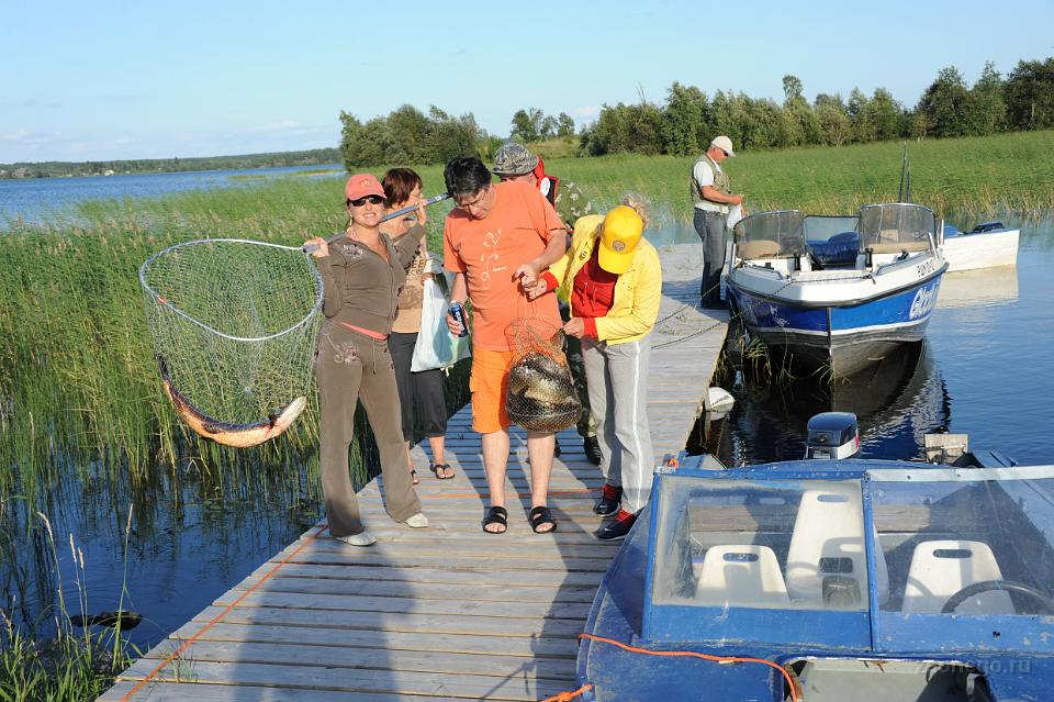 на рыбалку в карелию в августе 2016