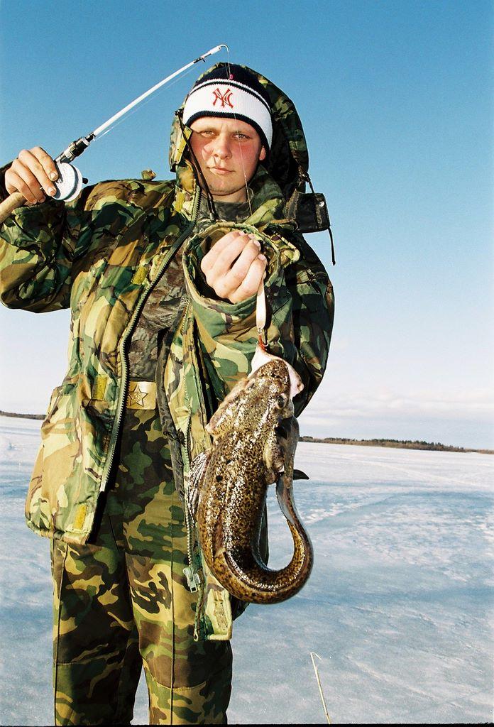 в карелии зимния рыбалка